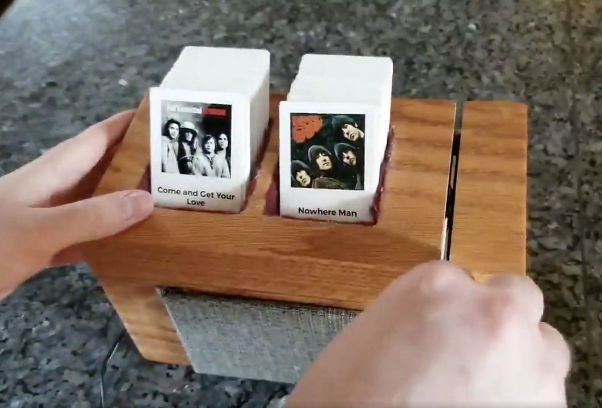 Clever Homemade Jukebox Uses Swipable Music Cards Moss And Fog